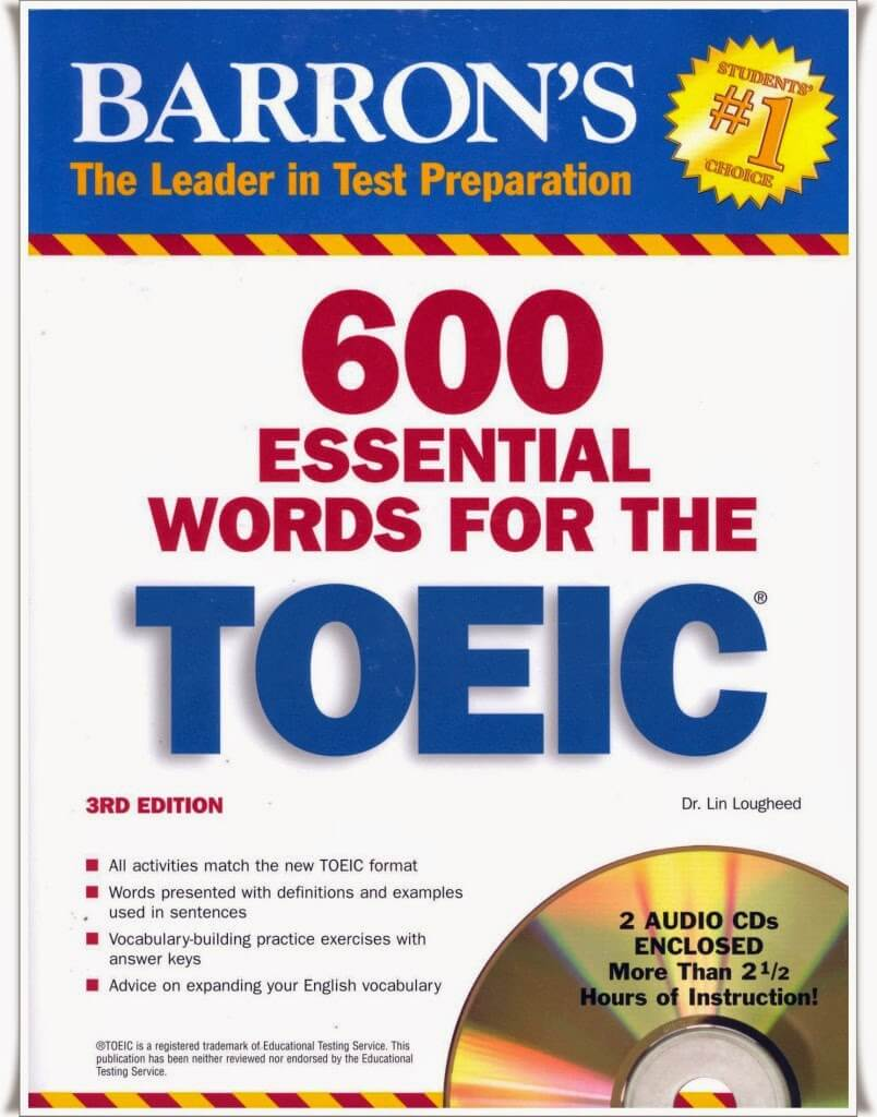 sách 600 essential words toeic the for