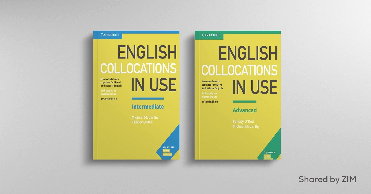 Sách luyện từ vựng IELTS English Collocations in Use – Cambridge