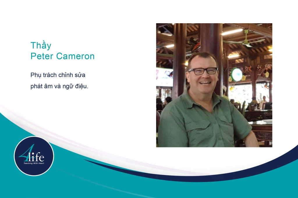 Thầy Peter Cameron